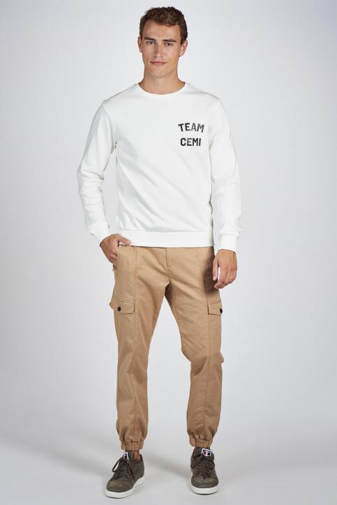 CEMI Sweaters met ronde hals wit EMI202MT 005_WHITE img2