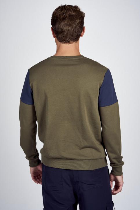 CEMI by Céline Dept & Michiel Callebaut Sweaters met ronde hals groen EMI202MT 006_OLIVE NIGHT img3