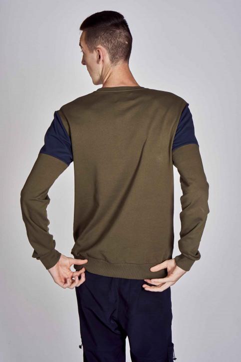 CEMI by Céline Dept & Michiel Callebaut Sweaters met ronde hals groen EMI202MT 006_OLIVE NIGHT img6