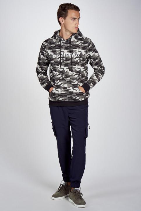 CEMI Sweaters met kap blauw EMI202MT 007_NAVY img2