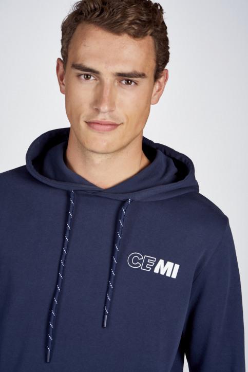 CEMI Sweaters met kap blauw EMI202MT 008_NAVY img4