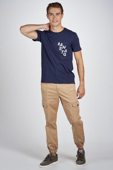 CEMI by Céline Dept & Michiel Callebaut T-shirts (korte mouwen) blauw EMI202MT 010_NAVY img2