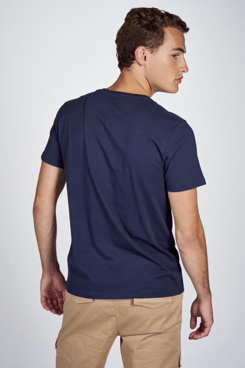 CEMI by Céline Dept & Michiel Callebaut T-shirts (korte mouwen) blauw EMI202MT 010_NAVY img3