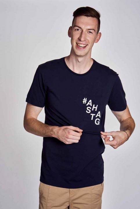 CEMI by Céline Dept & Michiel Callebaut T-shirts (korte mouwen) blauw EMI202MT 010_NAVY img4