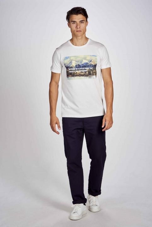 CEMI by Céline Dept & Michiel Callebaut T-shirts (korte mouwen) wit EMI202MT 012_WHITE img2
