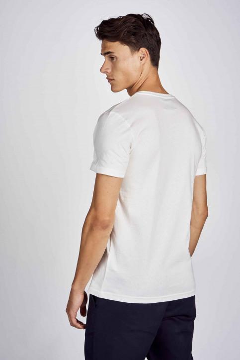 CEMI by Céline Dept & Michiel Callebaut T-shirts (korte mouwen) wit EMI202MT 012_WHITE img3