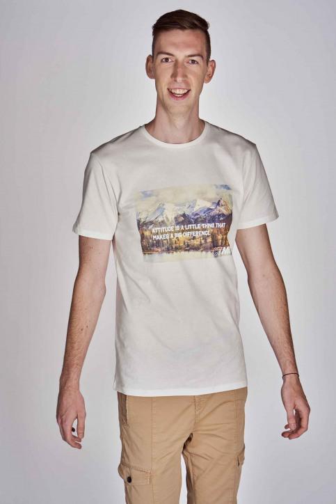 CEMI by Céline Dept & Michiel Callebaut T-shirts (korte mouwen) wit EMI202MT 012_WHITE img4