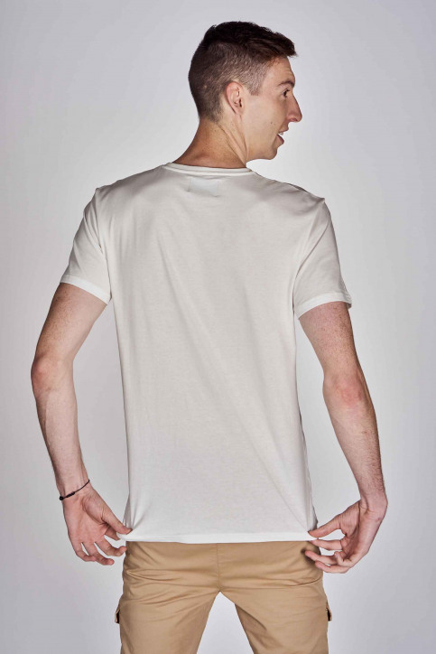 CEMI by Céline Dept & Michiel Callebaut T-shirts (korte mouwen) wit EMI202MT 012_WHITE img5