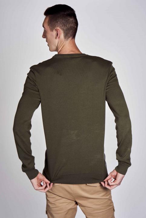 CEMI Sweaters met ronde hals groen EMI202MT 014_OLIVE NIGHT img6