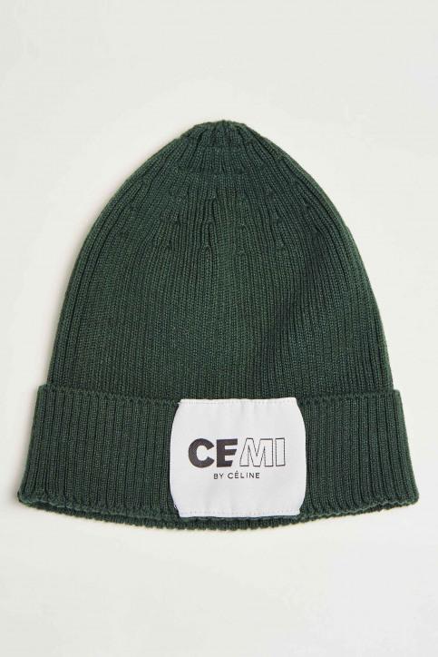 CEMI Mutsen groen EMI202WA 001_BOTANICAL GREEN img3