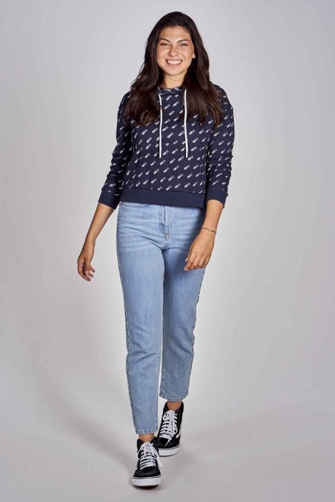 CEMI Sweaters met kap blauw EMI202WT 008_NAVY img2