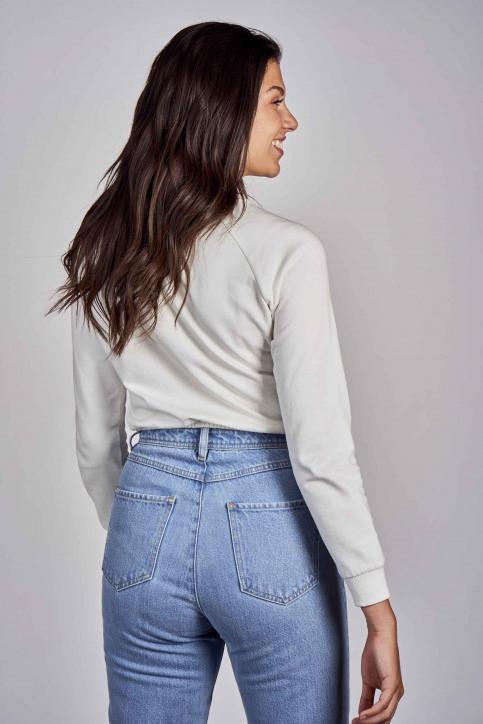CEMI by Céline & Michiel Sweaters met ronde hals wit EMI202WT 011_OFF WHITE img3