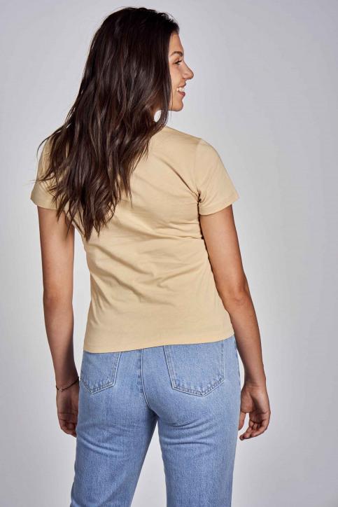 CEMI T-shirts (korte mouwen) beige EMI202WT 012_BEIGE img3