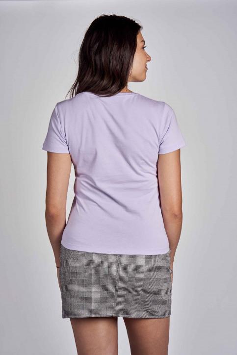 CEMI T-shirts (korte mouwen) paars EMI202WT 016_PASTEL LILAC img3
