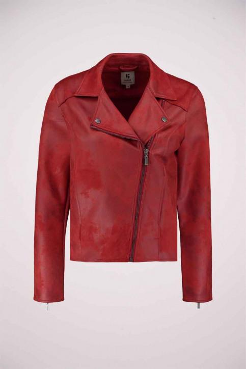 GARCIA Vestes en cuir rouge GS000890_2620 FIRED BRIC img4