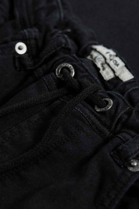 GARCIA Pantalons cargo noir GS030707_1755 OFF BLACK img4