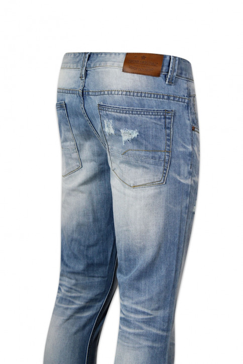 Shine Original Jeans straight blauw HARLEM JEANS_BRIGHT BLUE img4