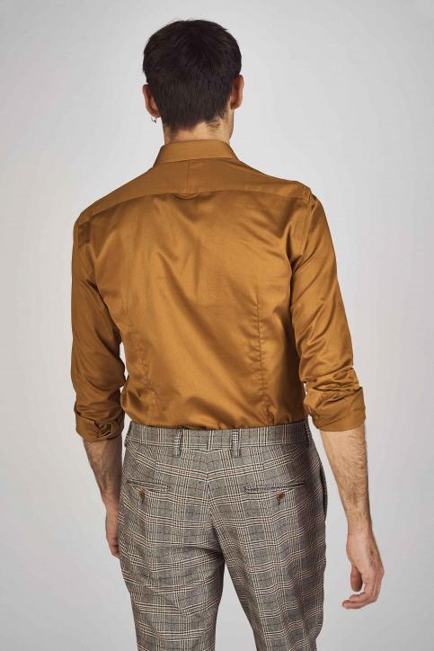 Le Fabuleux Marcel De Bruxelles Hemden (lange mouwen) bruin IMP192MT 002_RUBBER img3