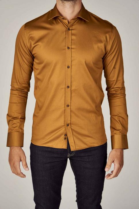 Le Fabuleux Marcel De Bruxelles Hemden (lange mouwen) bruin IMP192MT 002_RUBBER img5