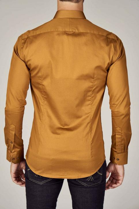 Le Fabuleux Marcel De Bruxelles Hemden (lange mouwen) bruin IMP192MT 002_RUBBER img6