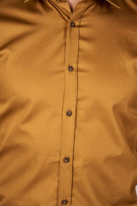 Le Fabuleux Marcel De Bruxelles Hemden (lange mouwen) bruin IMP192MT 002_RUBBER img7