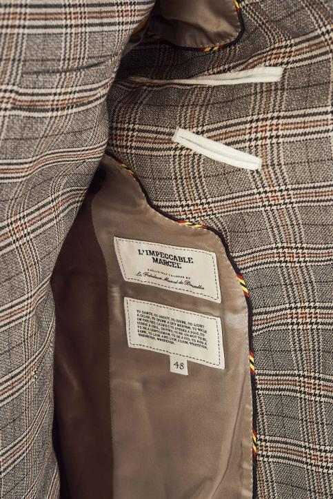 Le Fabuleux Marcel De Bruxelles Blazers bruin IMP194MT 008_RUBBER img6