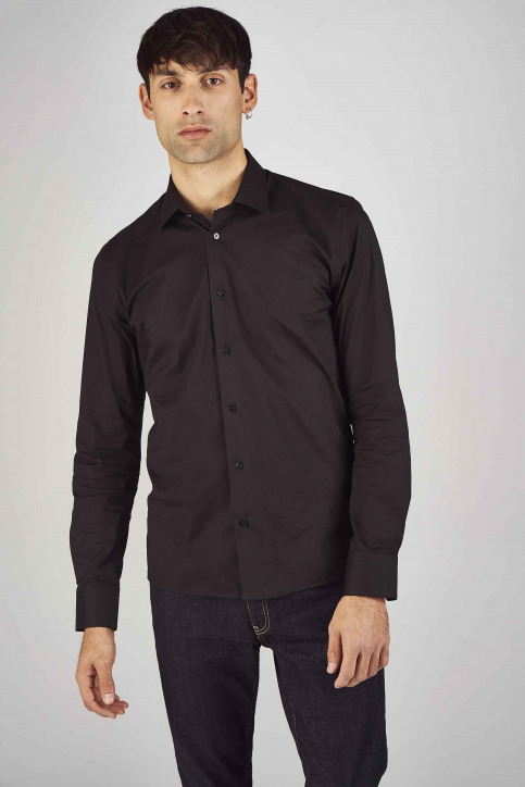 Le Fabuleux Marcel de Bruxelles Hemden (lange mouwen) zwart IMP194MT 023_BLACK img1