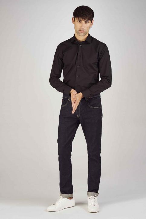 Le Fabuleux Marcel de Bruxelles Hemden (lange mouwen) zwart IMP194MT 023_BLACK img2