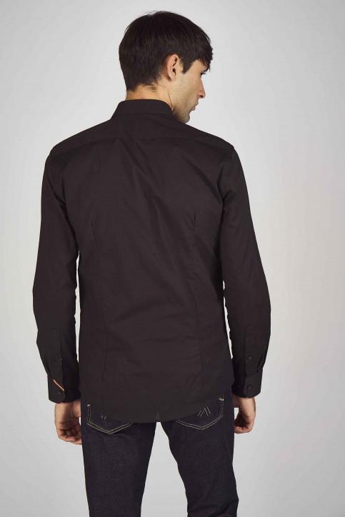 Le Fabuleux Marcel de Bruxelles Hemden (lange mouwen) zwart IMP194MT 023_BLACK img3