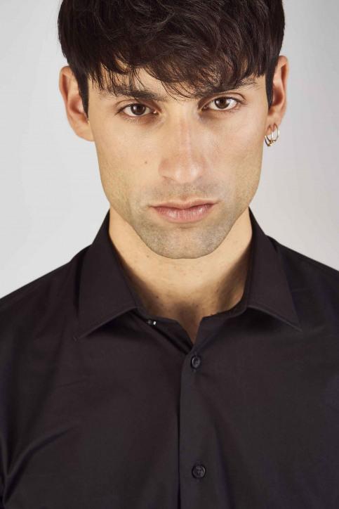Le Fabuleux Marcel de Bruxelles Hemden (lange mouwen) zwart IMP194MT 023_BLACK img5
