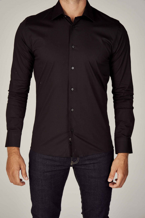 Le Fabuleux Marcel de Bruxelles Hemden (lange mouwen) zwart IMP194MT 023_BLACK img6