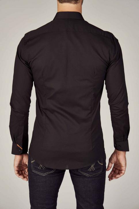 Le Fabuleux Marcel de Bruxelles Hemden (lange mouwen) zwart IMP194MT 023_BLACK img7