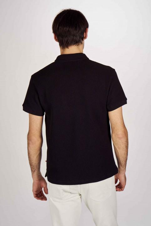 Le Fabuleux Marcel De Bruxelles Polo's zwart IMP201MT 003_BLACK img3