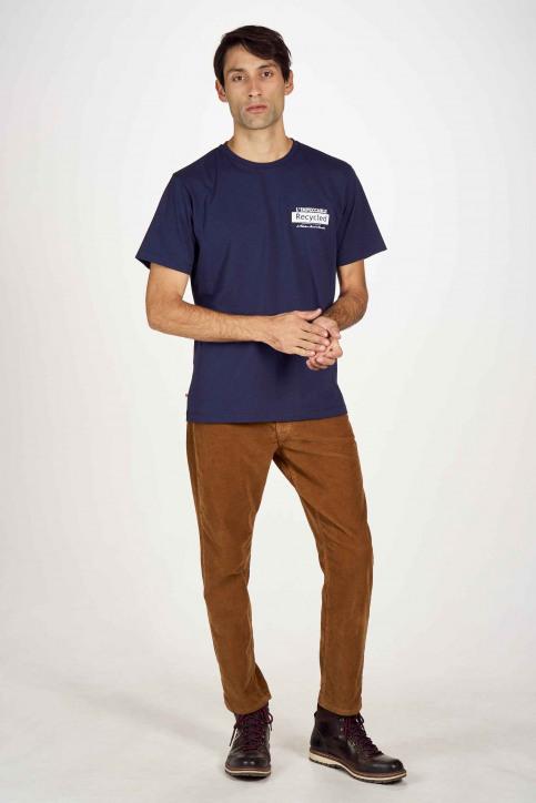 Le Fabuleux Marcel De Bruxelles T-shirts (korte mouwen) blauw IMP202MT 016_NAVY img2