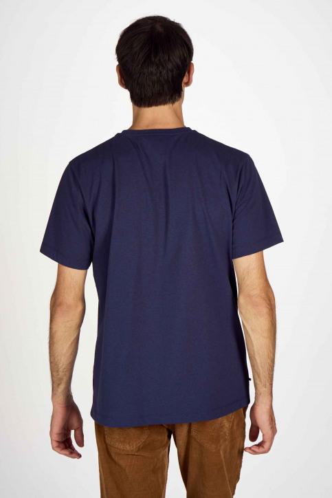 Le Fabuleux Marcel De Bruxelles T-shirts (korte mouwen) blauw IMP202MT 016_NAVY img3