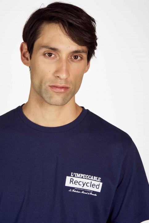Le Fabuleux Marcel De Bruxelles T-shirts (korte mouwen) blauw IMP202MT 016_NAVY img4