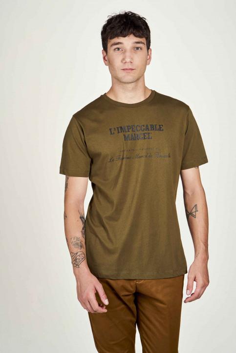 Le Fabuleux Marcel De Bruxelles T-shirts (korte mouwen) groen IMP202MT 017_OLIVE img2