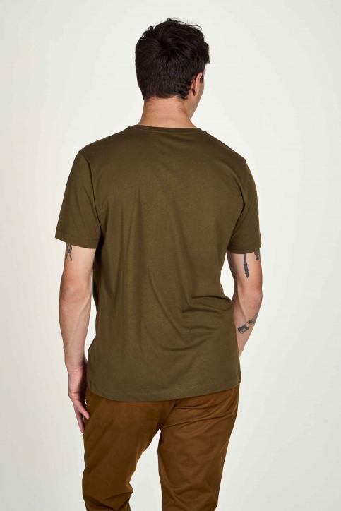 Le Fabuleux Marcel De Bruxelles T-shirts (korte mouwen) groen IMP202MT 017_OLIVE img3