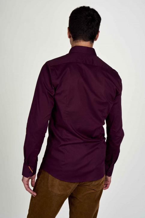 Le Fabuleux Marcel De Bruxelles Hemden (lange mouwen) bruin IMP202MT 020_MAROON img3