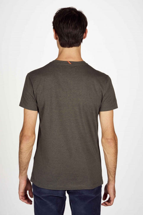 Le Fabuleux Marcel De Bruxelles T-shirts (korte mouwen) groen IMP203MT 006_DARK OLIVE img3