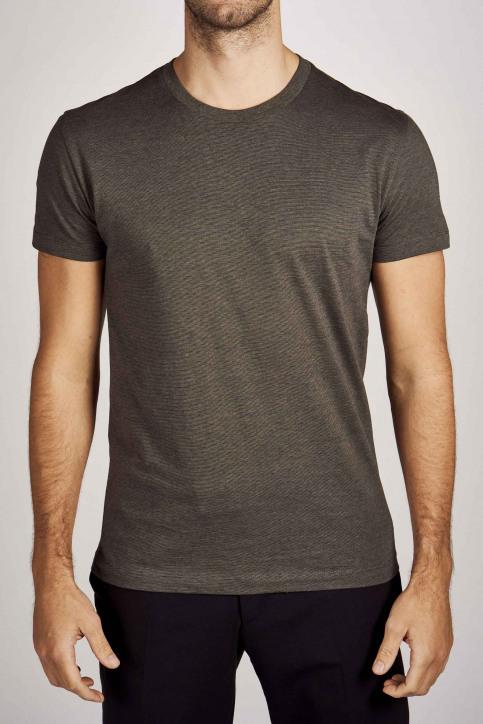 Le Fabuleux Marcel De Bruxelles T-shirts (korte mouwen) groen IMP203MT 006_DARK OLIVE img4