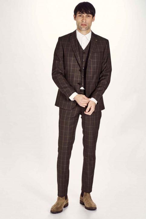 Le Fabuleux Marcel de Bruxelles Blazers brun IMP203MT 010_BROWN img2