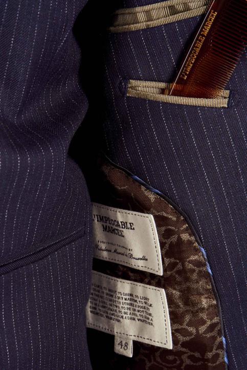 Le Fabuleux Marcel de Bruxelles Blazers bleu IMP203MT 018_NAVY img5