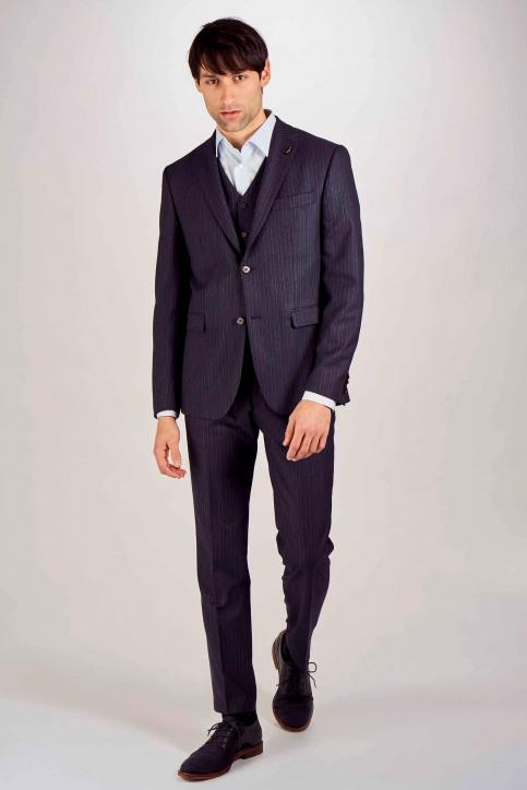 Le Fabuleux Marcel De Bruxelles Kostuumbroeken blauw IMP203MT 021_NAVY img2
