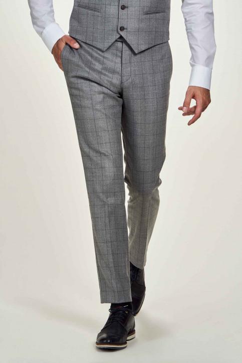 Le Fabuleux Marcel De Bruxelles Pantalons de costume gris IMP204MT 019_GREY CHECK img1