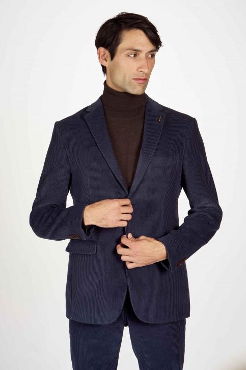 Le Fabuleux Marcel de Bruxelles Blazers bleu IMP204MT 021_NAVY CORD img1
