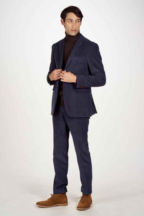Le Fabuleux Marcel de Bruxelles Blazers bleu IMP204MT 021_NAVY CORD img2