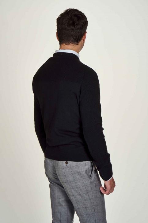 Le Fabuleux Marcel De Bruxelles Truien met ronde hals zwart IMP204MT 029_BLACK img2