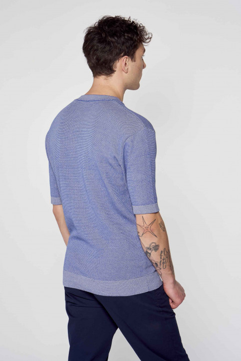Le Fabuleux Marcel de Bruxelles T-shirts (korte mouwen) blauw IMP211MT 009_BLUE img3