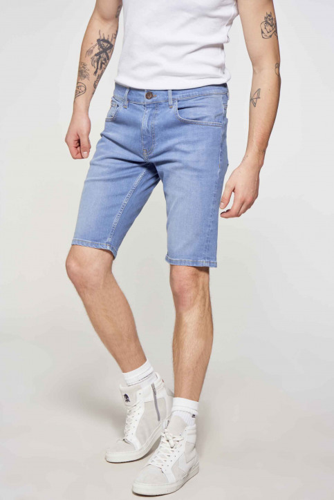 Le Fabuleux Marcel de Bruxelles Denim shorts denim IMP211MT 048_DENIM img1
